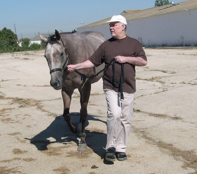 CARLA with the owner and breeder LUIZ EDUARDO LAGES, Spain, 2006
