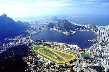Another view of the Hipódromo da Gávea, Rio de Janeiro, Brazil