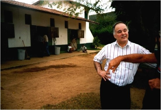 LUIZ EDUARDO LAGES visiting the CT VERDE E PRETO